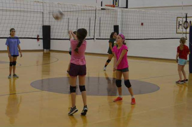 S-Youth Volleyball camp pic 1