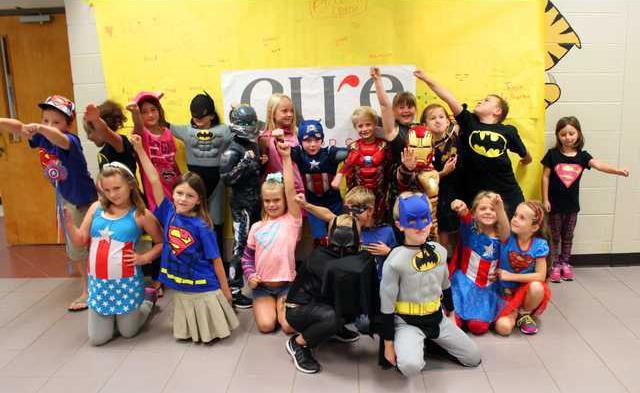 E-Childhood Cancer Fundraiser pic1