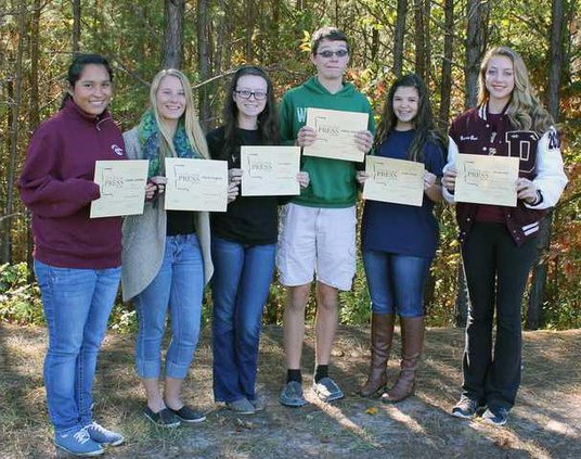DCHS Yearbook Award pic