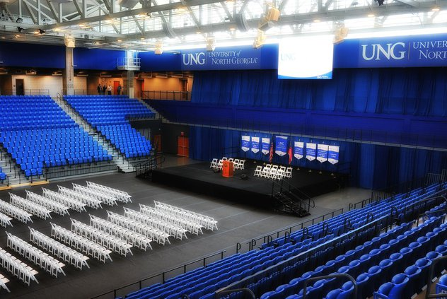 UNG convocation center 1