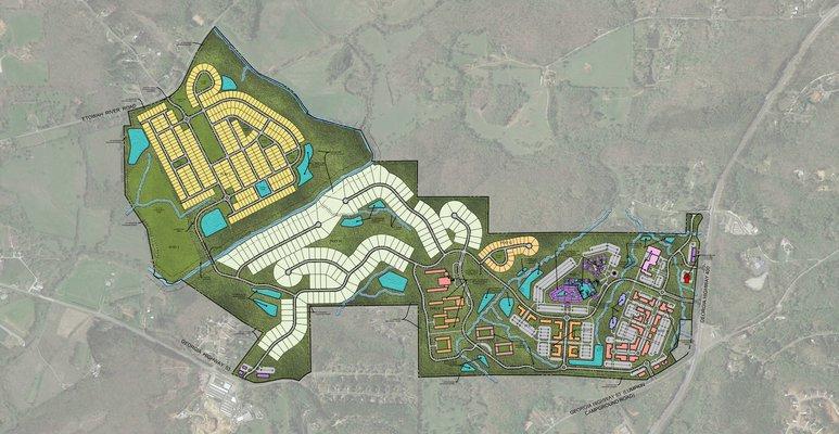 Etowah Village  map