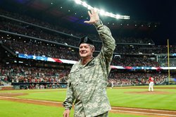 David Sapp honored by Atlanta Braves as Hometown Hero